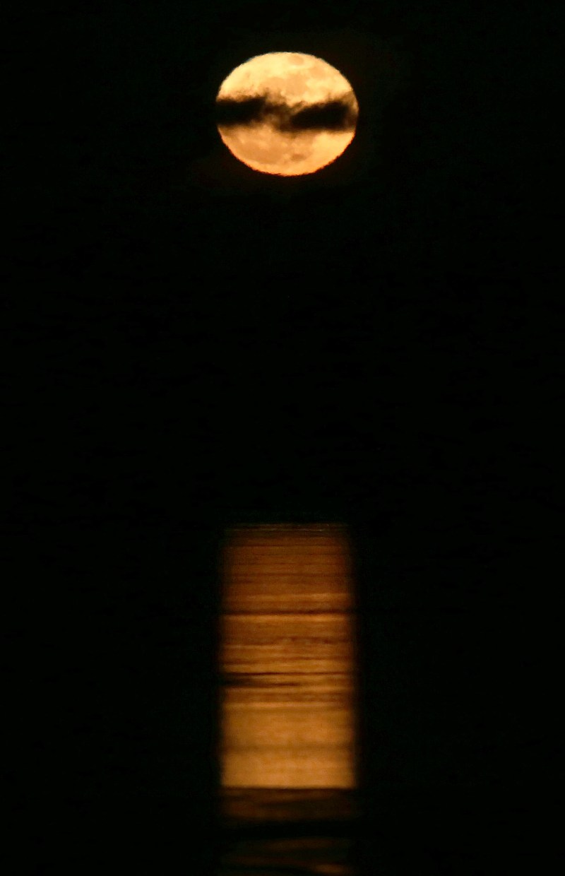 Large Of What Direction Does The Moon Rise