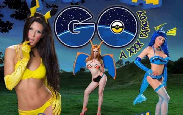Pokémon Go Adulto Filme Porn Brazzers Lança Paródia PornStar Go