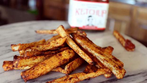 Spicy Baked French Fries (University Foodie)