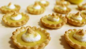 Mini Lemon Tarts (University Foodie)