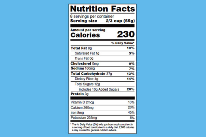 How to read the new nutrition label 6 things you need to know - label