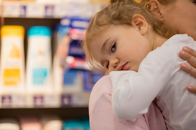 Prenatal exposure to chemicals in personal care products may speed