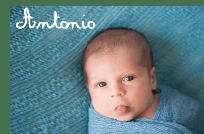 bambino con nome Antonio