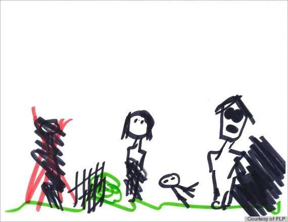 Genitori, guardate i disegni dei vostri figli per scoprire cosa pensano - FOTO