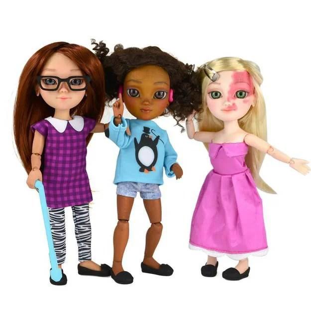 bambole con disabilità