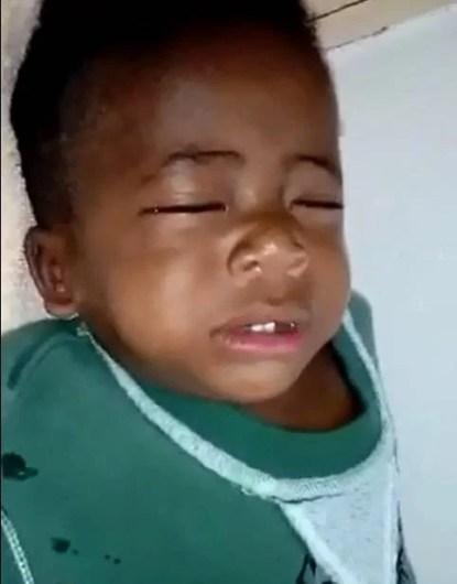 bambino africano salvato