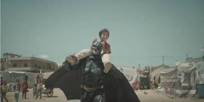 batman in siria