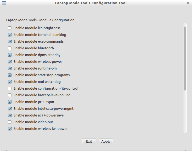 Laptop Mode Tools Configuration Tool_002