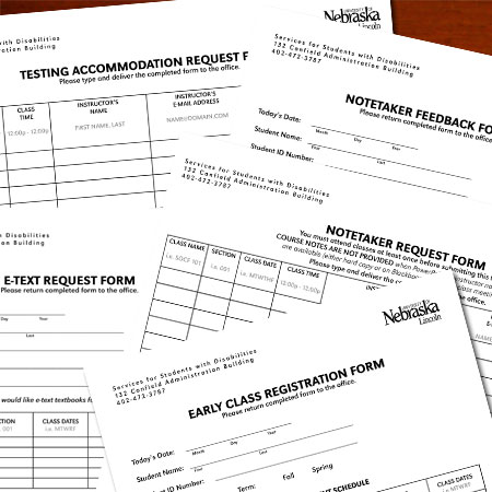Service Request Forms Services for Students with Disabilities - service request form