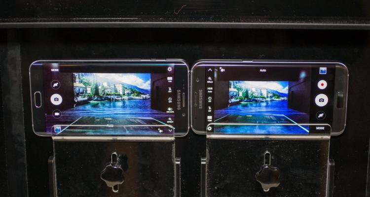 كاميرا سامسونج جالكسي 7 ايدج