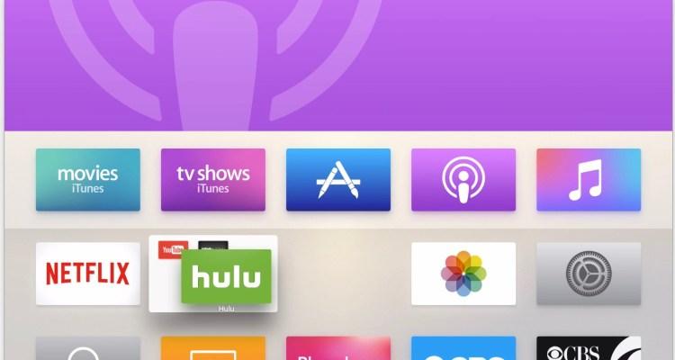 Apple TV tvos9-2