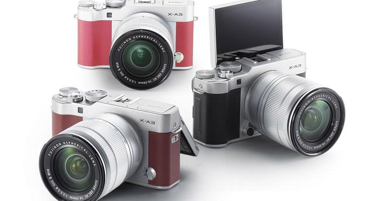 Fujifilm-X-A3