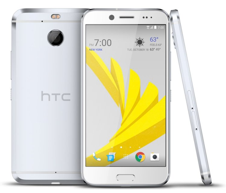 htc bolt in silver