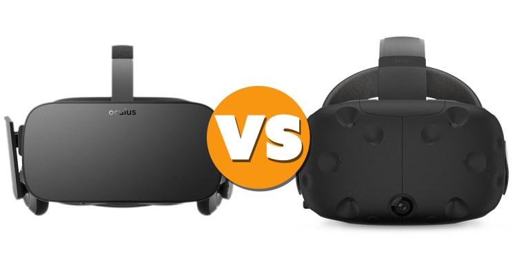 HTC Vive - Oculus Rift