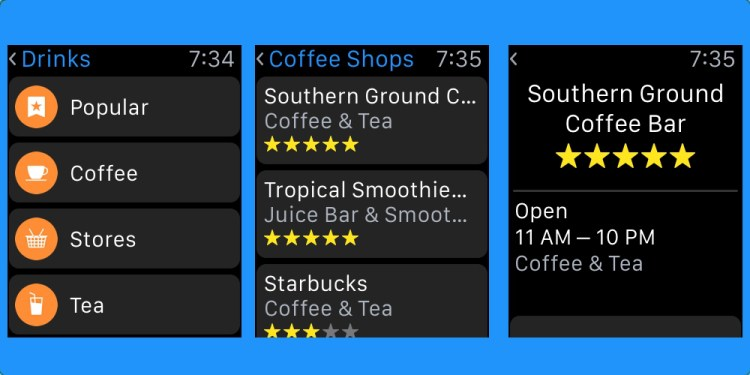 Maps-nearby-apple-watch
