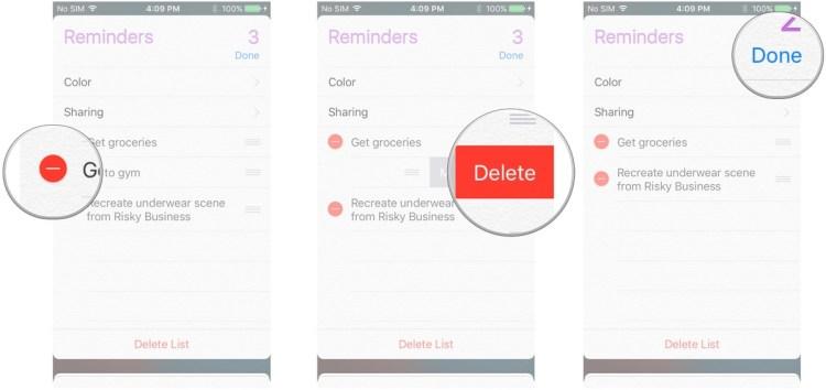كيفية مسح رسائل التذكير على iOS  كيفية مسح رسائل التذكير على iOS  كيفية مسح رسائل التذكير على iOS  كيفية مسح رسائل التذكير على iOS