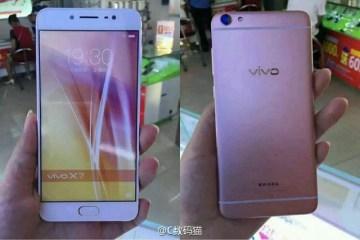 Vivo X7 Leaked
