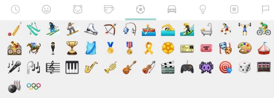 ايموجي خاصة للألعاب الأولمبية في تحديث WhatsApp