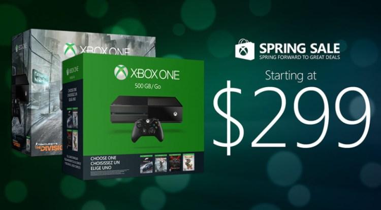 Xbox One - sale