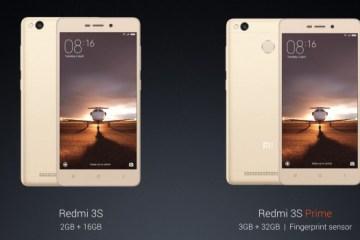 Xiaomi Redmi 3s Prime-Redmi 3s