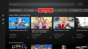 تحديث تطبيق YouTube لأجهزة التلفاز الذكية وأجهزة الألعاب