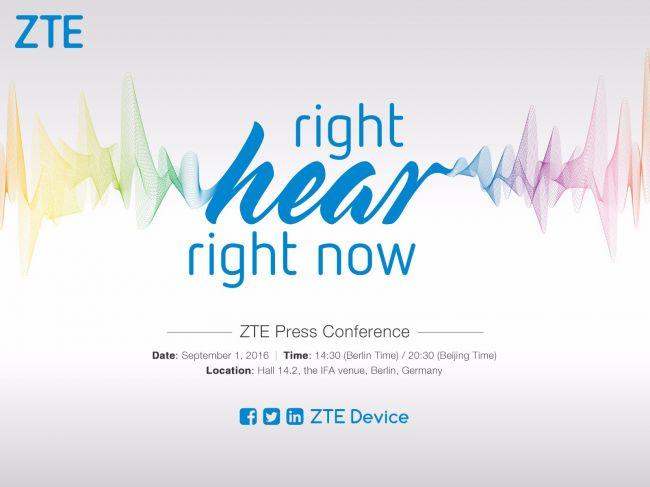 ZTE press conference