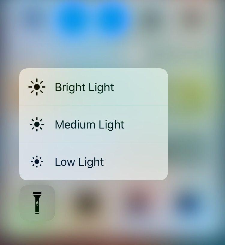 flashlight brightness