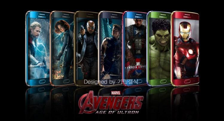 galaxy s6 avengers 1