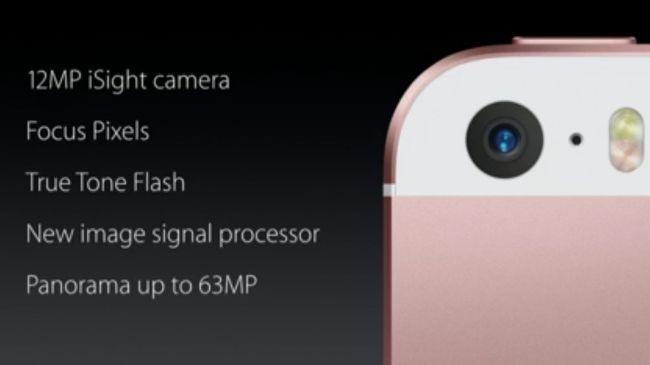iphone se camera