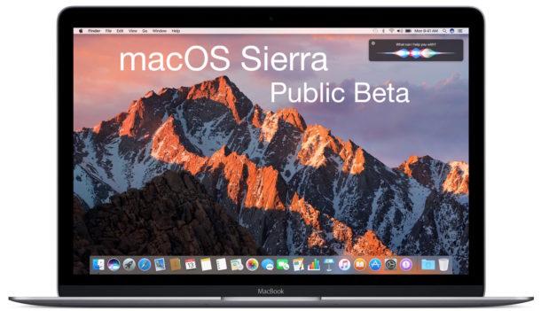كيفية تثبيت الإصدار التجريبي من نظام MacOS Sierra على جهازك؟ macos-sierra-beta.jp