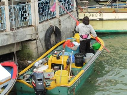 Vendedora de pescado