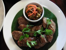 Salchicha típica de Laos