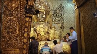 Pagoda Mahamuni en Mandalay