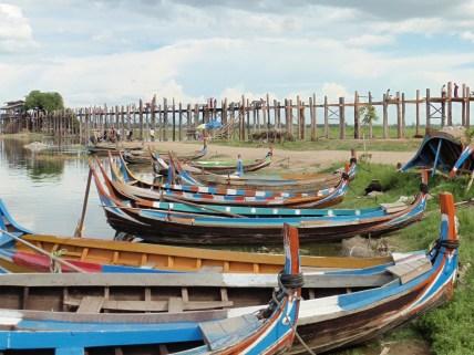 Puente de U Bein en Amarapura