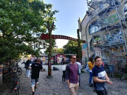 Entrada a Christiania