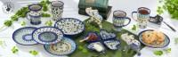 Polish Pottery Dinnerware Sets & Clover Polish Pottery