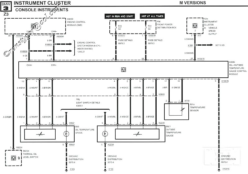 E30 BMW Obc Wiring Diagram Electrical Schematic Diagrams