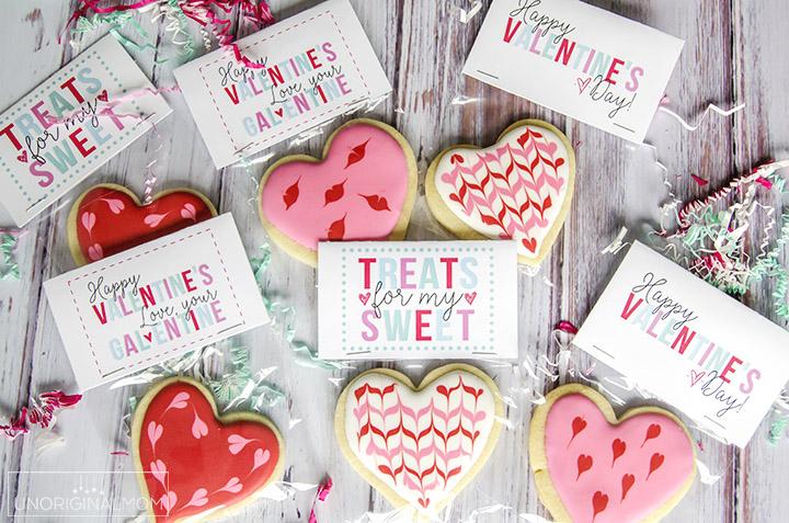 Free Valentine\u0027s Day Treat Printables - unOriginal Mom