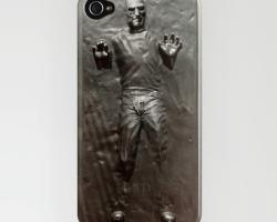Carcasa para iPhone con Steve Jobs en carbonita… No se vende mas