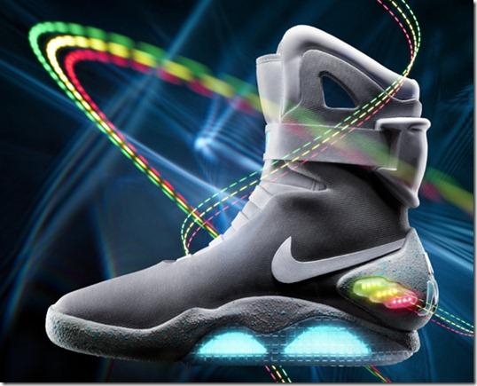 Nike subastará una tanda de las zapatillas de Volver al Futuro 2