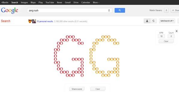 google zerg rush - unpocogeek.com