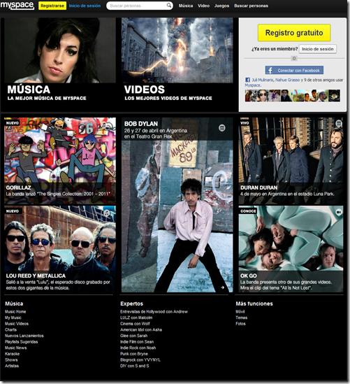 myspace prepara su relanzamiento - unpocogeek.com