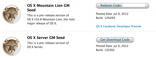 OS X Mountain Lion GM download - unpocogeek.com