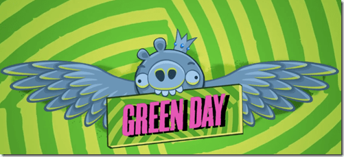 Angry Birds Friends ft. Green Day - unpocogeek.com