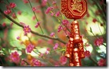  (New Year ornament saying bring in health and riches, China)