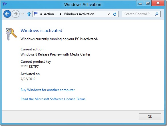 Windows 8 new activation system - unpocogeek.com