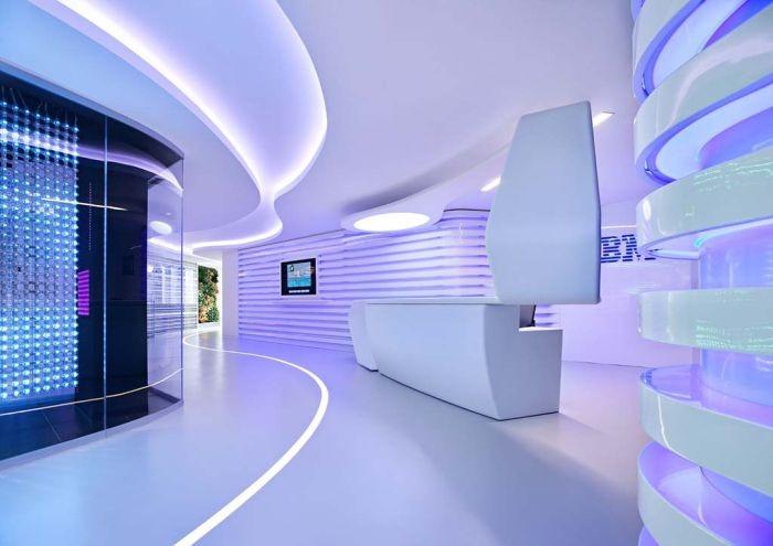 Dentro de las oficinas centrales de IBM en Roma