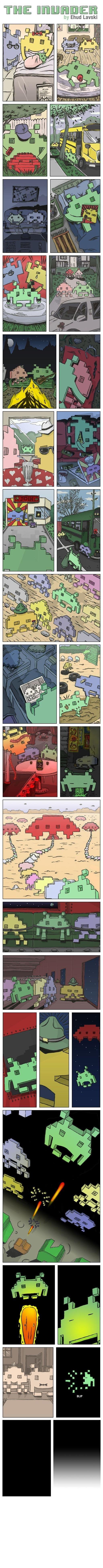 """The Invader"" la historia de un Space Invader"
