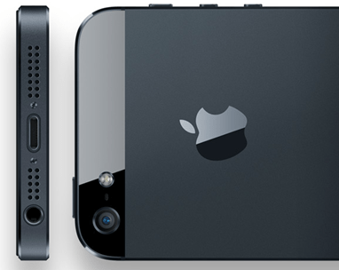 Apple - iPhone 5 - design - unpocogeek.com