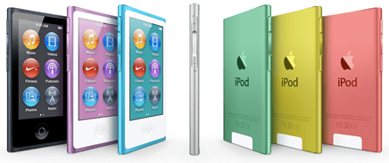 Apple - iPod nano with Multi-Touch - unpocogeek.com